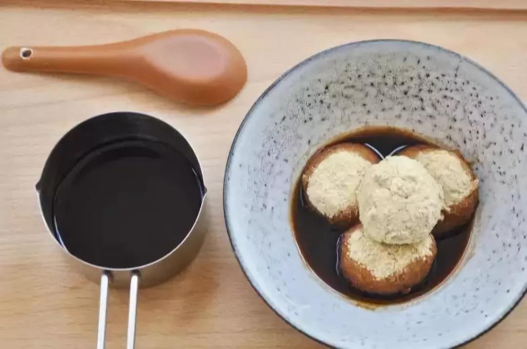 豆面汤圆成品展示