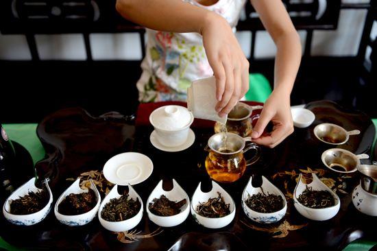 普洱茶茶艺