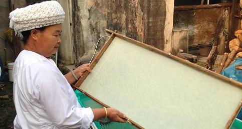傣族纳西族手工造纸技艺