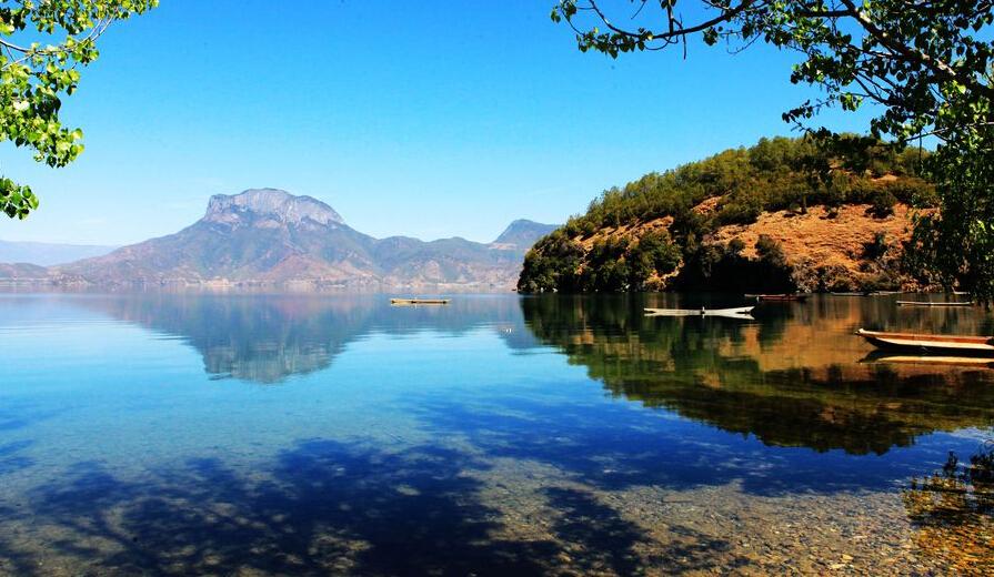 泸沽湖旅游景区
