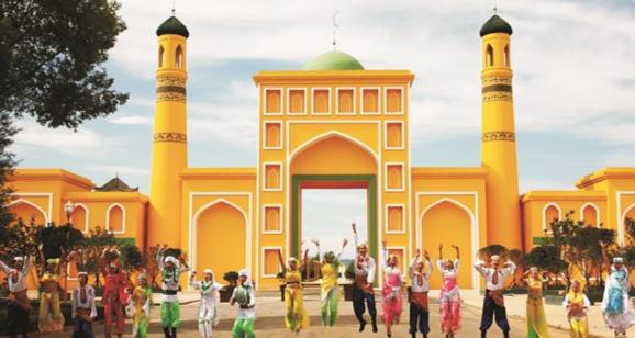 鲁甸伊斯兰风情城